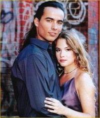 Cécilia Cara und Damien Sargue