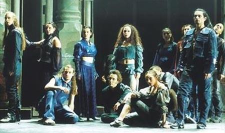 Tänzer Roméo et Juliette