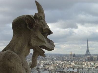 Gargouilles Wasserspeier von Notre Dame