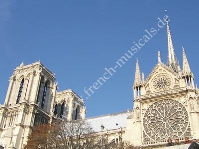 Kathedrale Notre Dame in Paris heute